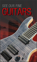 See incredible Mayones Guitars - Regius, Setius, Legend, Maestro, Virtuoso, and Signature Series